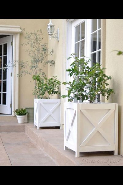 Spruce up Your Deck or Patio for Summer with these amazing DIY Outdoor Furniture and Decor Ideas! From DIY tables, chairs and planters, to potting benches and o