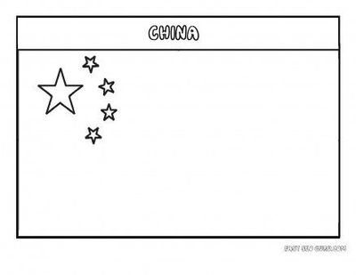 Free Printable Flag Of China Coloring Page For Kids Educati Printable Coloring Pages For Kids Juxtapost