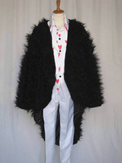 One Piece Rosinante Corazon Cosplay Feather Coat for Sale
