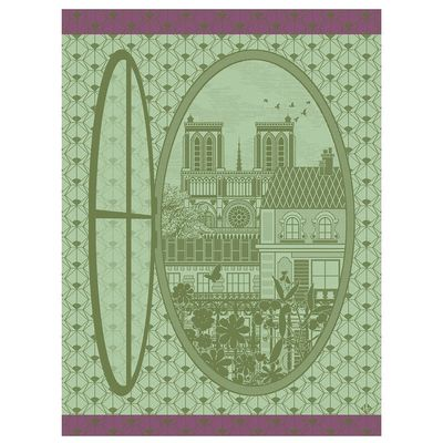 Fenêtre Sur Paris Plane Tree Tea Towels $100.00