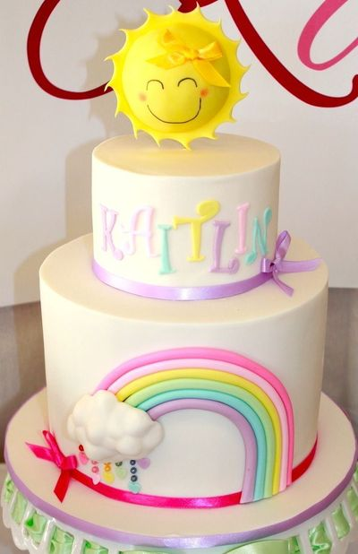 This adorable PASTEL RAINBOW THIRD BIRTHDAY PARTY was submitted by Rachael Attard of The Sweet Collection. How cute is this party?! I love the pastel color sche