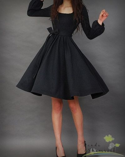 This is the PERFECT little black dress.
