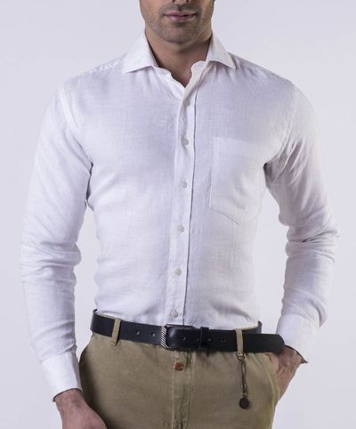 Original White Linen Regular Fit Shirt �'�1199.00