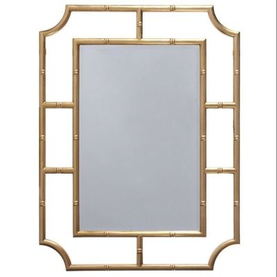 Marian Gold Mirror by Worlds Away $807.00