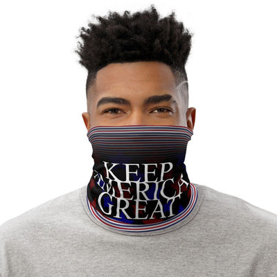 All-Over Print Neck Gaiter KAG Face Mask, Keep America Great Again Neck Gaiter $17.95