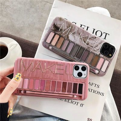 Make-up Eye Shadow Palette iPhone Case $14.95