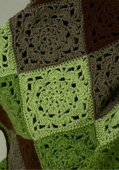 Mount Vernon square pattern. #crochet