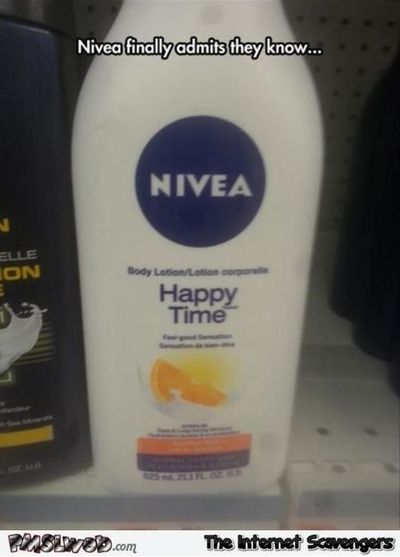 Nivea finally admits they know meme