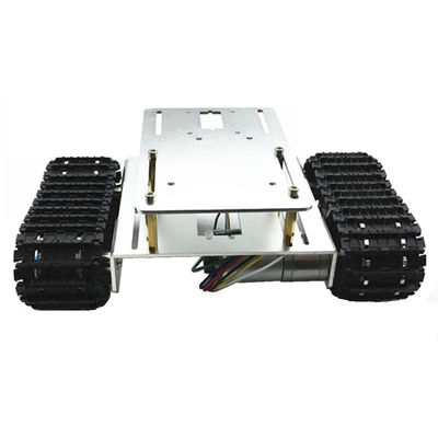 DIY A-16 Aluminous Smart Robot Tracked Car Chassis Base For Arduino Raspberry Pi