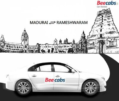 Madurai to Rameshwaram Cabs at Affordable Rates - #Beecabs Car Rental 