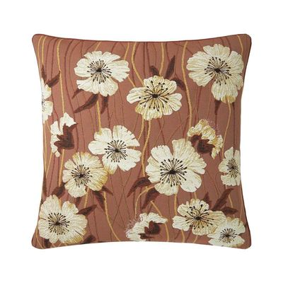 Alba Rose Cèdre Decorative Pillow by Iosis $120.00