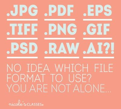 Quick File Format Guide