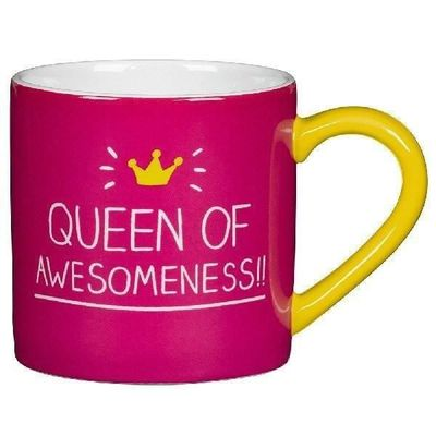 Queen Of Awesomeness Mug - Happy Jackson £7.95