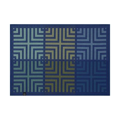 Kaléidoscope Illusion Blue Reversible Placemats $92.00