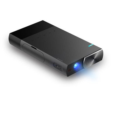 AAO S1 Mini Portable DLP Projector Multi-Screen Sync Wired Display Projector 1080P HD DLP LED 5200mAh Battery Pico 3D Projector