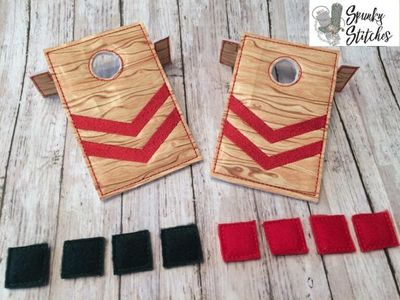 Elf Cornhole Game set