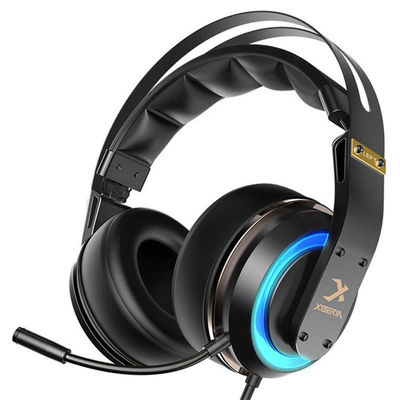 Xiberia T19 Gaming Headphone Active Noise Cancelling Mic LED Light Stereo Gaming Headset with Mic