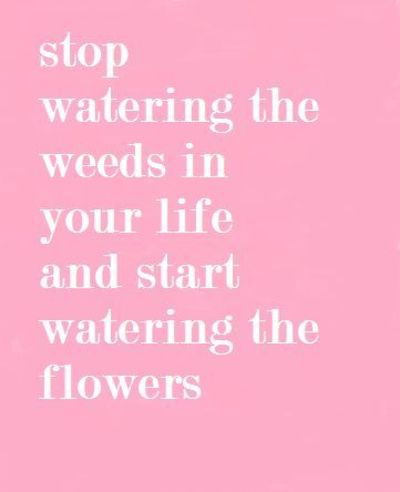 Nurture The Good Things In Your Life Inspiring Quotes