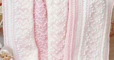 Free Heart Strings Afghan Crochet Pattern -- Download this f