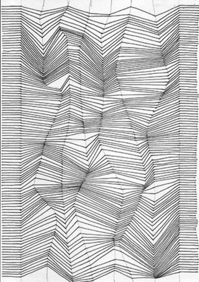 Line Drawing Illusion : Drawing with lines optical illusion tutorial quilting