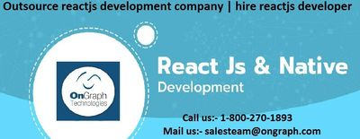 Outsource reactjs development company | hire reactjs developer