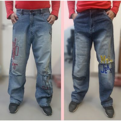 Men's Jeans, Loose fit, Designer Jeans £19.95