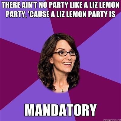 Liz Lemon party