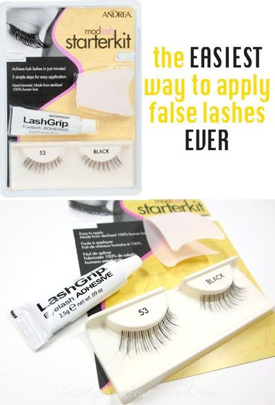 Last week, I once again admitted how bad I am at applying false lashes. In addition to using the tips I got from the MAC Cosmetics Video with Jennifer Chen , I