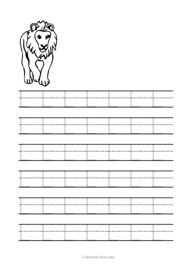 free printable tracing letter l worksheets for preschool free printable tracing sheets for pre. Black Bedroom Furniture Sets. Home Design Ideas