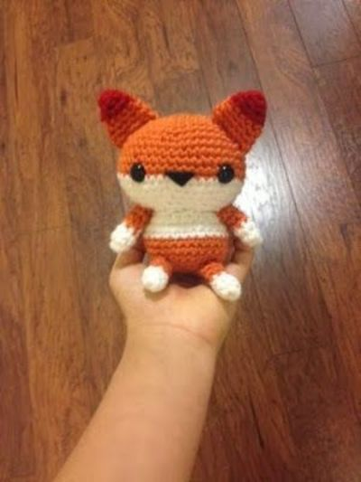 Amigurumi Strawberry Girl Free Pattern : Amigurumi Fox - FREE Crochet Pattern / Tutorial / crochet ...