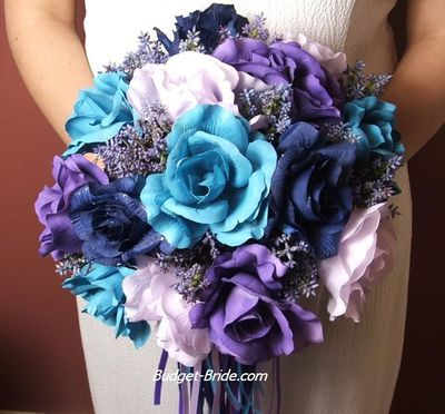 Turquoise Royal Blue Lilac And Purple