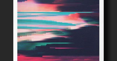 G L I T C H E D II on Behance- love how the combination of color is used to create a mood