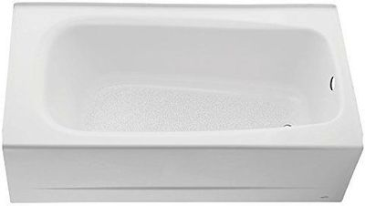 American Standard 2461.002.020 Cambridge 5-Feet Bath Tub with Right-Hand Drain, White - Recessed Bathtubs - Amazon.com