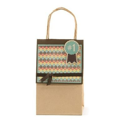 Country Livin' gift bag. Designed by We R Memory Keepers Design Team.