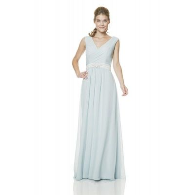 Misty Blue Bari Jay 1514 Bari Jay Bridesmaids - Rich Your Wedding Day