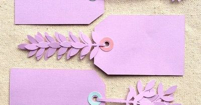 Create these tag barrettes with a paper punch for the perfect embellishment for all your gifts! This tutorial will guide you through the steps�€�