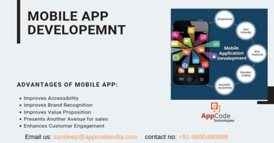 AppCode Technologies is a leading mobile app development company in India. We provide the best android, iOS, and react-native Mobile App development services in India, USA. know more - https://www.appcodeindia.com/mobile-app-development-in-delhi/