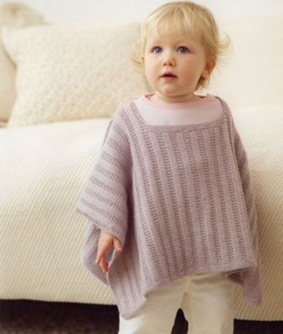 Girls Knit Poncho Pattern | KNITTING BABY PONCHOS PATTERNS ...