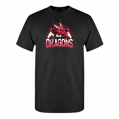 Game of Thrones Inspired Targaryen Fire Dragons Sports Parody Adult Unisex T-Shirt $15.00 https://www.nurdtyme.com