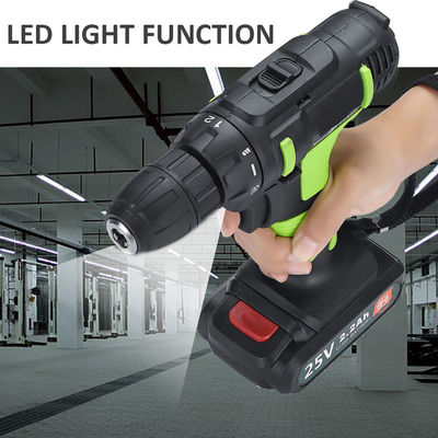 25V Electric Screwdriver Li-ion Battery Screw Driver Drill Rechargeable Power Drill