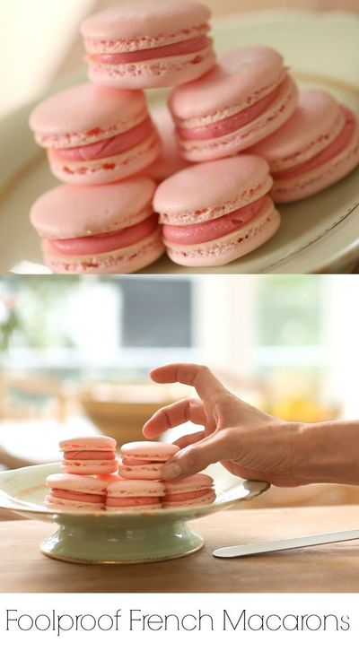 Learn how to make a foolproof macaron by following my foolproof tips! INCLUDES VIDEO TUTORIAL #macarons #FrenchMacarons #FrenchMacaronsEasy #Cookies #French