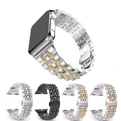 Stainless Steel watch strap For Apple Watch 42mm 38mm 40mm 44mm Metal Replacement bracelet For iWatch Series 4 3 2 1 $34.99