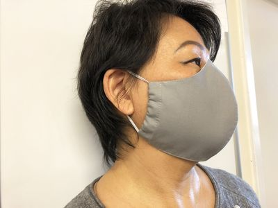 Face Mask for Adults and Children, Hand Made Face Mask with Filter Pocket, Three Layers of 100% Cotton $20.00