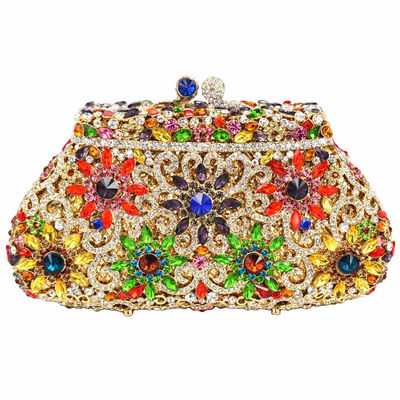 Luxury Flower Clutch Evening Bag
