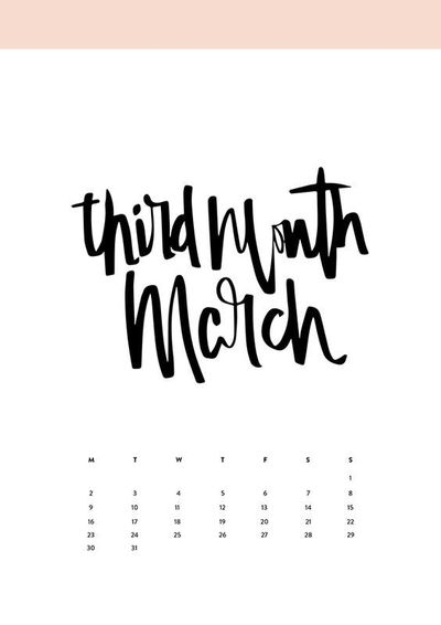 Maybe it's a little bit too early to think of next year. After all, there are six more months to go. But like said, it's never too early for a calendar! If you