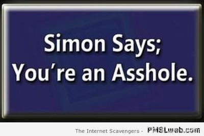 Simon says...
