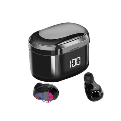 Bakeey X6 TWS bluetooth 5.0 Earphone Mini Portable LED Display Wireless Earbuds Touch Control Stereo Headphone with Mic