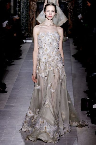 Valentino Couture. repost your favorite #NYFW looks to get them from the Runway to #RTR!
