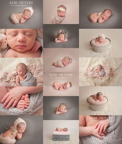 Newborn Poses Ideas