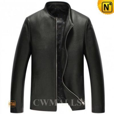 Haute Couture Men Leather Jacket CW806046 | CWMALLS.COM